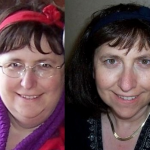 Before and after hypnosis works for weight loss.