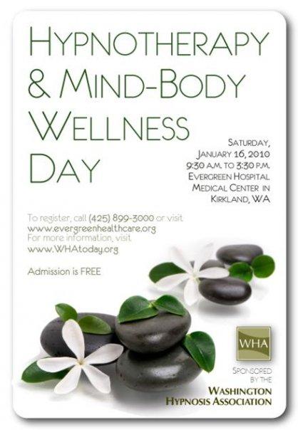 A World Hypnotism Day Event - At Evergreen Hospital Medical Center